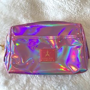 4d3f438b42 Jeffree Star Bags - Jeffree Star pink holographic makeup bag